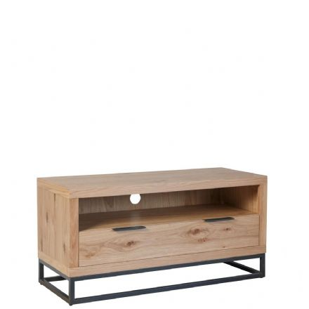 Loft Oak Small TV Unit